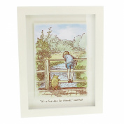 "Disney Classic Winnie The Pooh Heritage Wall Art Decor Framed Print ""Fine Day For Friends"""