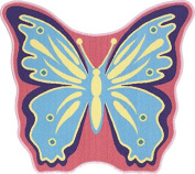 Butterfly Shaped Rug