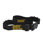 Squeezy Sports Nutrition Start Number Band With 8 Energy Gel Loops