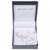 Equilibrium Jewellery - Fresh Water Pearl Christening Bracelet