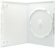 Vision Media 10 X Amaray Single White - DVD/Blu Ray/CD/ Wii Case