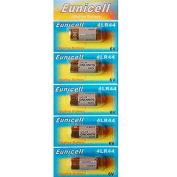 Aksans(TM) 5 x 4LR44 6v Alkaline battery 476A A544 PX28 4G13 L1325