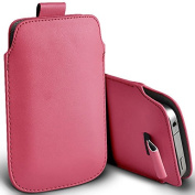 Baby Pink PU Leather Pull Tab Pouch Cover Case for for for for for for for for for for for Samsung Galaxy Young 2 by Digi Pig