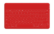 Logitech Keys To Go Ultra Portable Keyboard for iPad, iPhone, Apple TV and more - Red