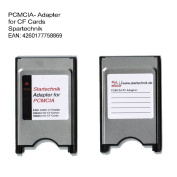PCMCIA Compact Flash Card Adaptor for Compactflash devices, like CF GPS Receiver, Memory Cards, Beamer, Tachymeter, projector, survey equipment, Notebook, Laptop, PC for CF 1