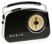 König Portable DAB+ Radio FM / AM / DAB / DAB+ AUX Black