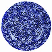 Burleigh Dark Blue Calico Dinner Plate 26.5 cm