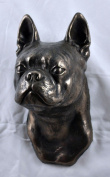 Boston Terrier, statue figure hanging on the wall limited ArtDog