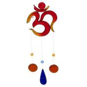 Colourful Om Sign Resin Suncatcher Mobile Spiritual Gift
