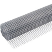 4M X 0.9M WIRE NETTING. SMALL 13mm SQUARE MESH. GALVANISED. EASY TO CUT & FORM