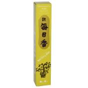 Yuzu Morning Star Quality Japanese Incense by Nippon Kodo - 50 Sticks + Holder