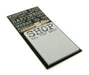 Vintage Quote Design Magnetic Memo Pad & Pencil Fridge Magnet Shopping List