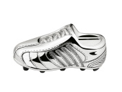 Zilverstad 6256261 Money Box Football Boot Design Tarnish-Resistant Silver-Plated 13.5 x 4.2 x 5 cm