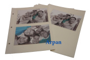 Arpan Self Adhesive 20 Sheets/40 Sides Refill For Ring Binder Photo Album