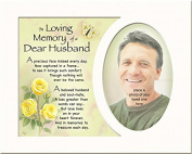 Memory Mounts Memorial In Loving Memory Of A Special Husband Mount And Poem For A Photo Frame 25cm x 20cm