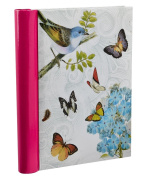 Arpan Vintage Butterfly Self Adhesive Photo Albums -36 Sheets 72 Sides - Cream
