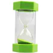 45 Minute Sand Timer Bright Green 16 cm