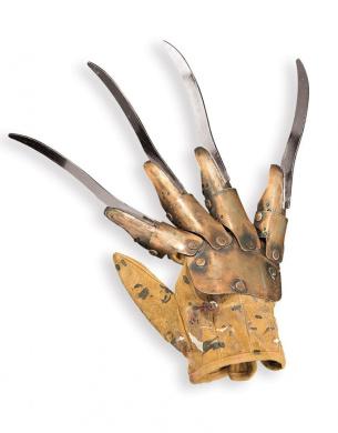 Nightmare On Elm Street Costume Accessory, Mens Freddy Krueger Glove Deluxe Replica Style 4