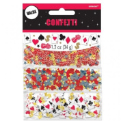 Casino Table Confetti Value Pack - 3 Pack - 34 Grammes