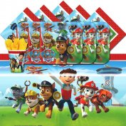 Paw Patrol Complete Party Supplies Kit For 16
