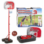 Childrens, Kids, junior free standing portable basketball set