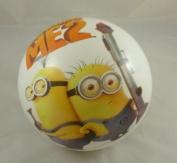 23cm Despicable Me 2 Play Ball - Minion Design + Gru Design On Reverse