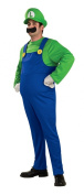 Rubie's Official Deluxe Adult Luigi Fancy Dress - Small
