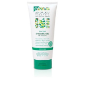 New - Andalou Naturals Shower Gel - Aloe Mint Cooling - 250ml