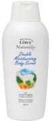 Leivy Naturally Doble Moistursing Body Scrub 325ml - Goat Milk & Apricot Beads