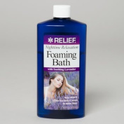 FOAMING BATH 470ml NIGHTIME W/LAVENDER RELIEF..Pack Of 2