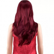 TECH-P Long Curly Wave Wig Natural Wigs for Women