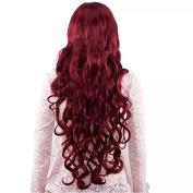 TECH-P Hestia Copper Red Curly Wig 70cm