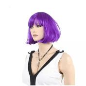 TECH-P Costume Blue Super Model Wig Bob Wig