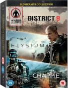Chappie/District 9/Elysium [Region 2]