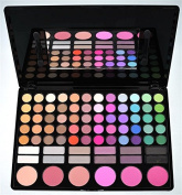 Amazing2015 Cosmetics Professional 78 Colour Eyeshadow Makeup Palette Kit with 6 Blush Blusher and 12 Shade #02