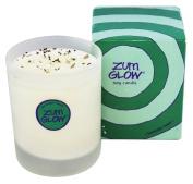 Indigo Wild Zum Glow in a Glass Candle, Lavender and Mint Zum
