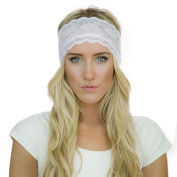 DZT1968(TM)Gentlewomen Yoga Headband Elastic Hair Band Vintage Lace
