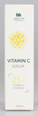 Vitamin C Serum 30ml Pump Action Bottle with 25% Vitamin C Plus Hyaluronic Acid & Ferulic Acid with Additional Premium Ingredients Working Synergistically to Remove Wrinkles and Add Glow to Your Skin