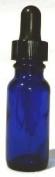 Cobalt Blue Dropper Bottles 30ml - 12 Per Package