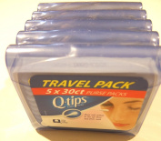 Q-Tips Cotton Swab Travel Purse Pack 30 ct