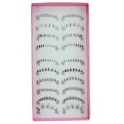10 Pairs Lower Under Bottom False Eyelashes Eye Lashes Extension Different Style