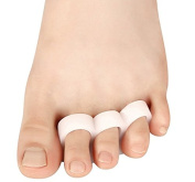 Cerkos Small Gel Toe Separators Toe Protectors Spacers Straighteners