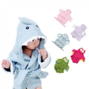 Voberry®New Arrival Cute Designs Hooded Animal modelling Baby Bathrobe/Cartoon Baby Towel kids bath robe/infant bath towels