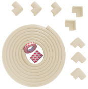 Premium Edge Guard & Corner Bumpers for Baby Proofing from Bow-Tiger - Easy to Instal on Any Furniture, Extra Long with Extra 3M Tape Corner Cushion Bumper, More Dense Edge Protector Designed to Absorb Impact - Protect Your Loved Ones Today!