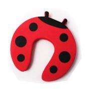 Gaorui 5 PCs Child kids Baby Animal Cartoon Jammers Stop Door stopper holder lock Safety Guard Finger Protect_Red ladybug