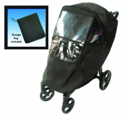 Comfy Baby Universal Insulated Stroller Weather Protector - black, one size