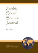 Zambia Social Science Journal Vol. 3, No. 2
