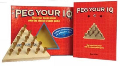 Peg Your IQ - Box Set: Test your brain power with the classic puzzle game (RBF)