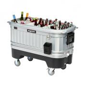 IGLOO Coolers 118.3l. Party Bar LiddUp Illuminated Cooler Metallics 49271