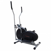Sunny Health and Fitness SF-E1404 Air Elliptical Trainer - Black